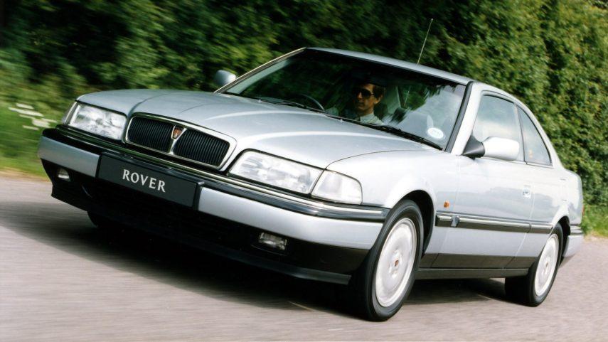 Coche del día: Rover 827 Coupé (R17)
