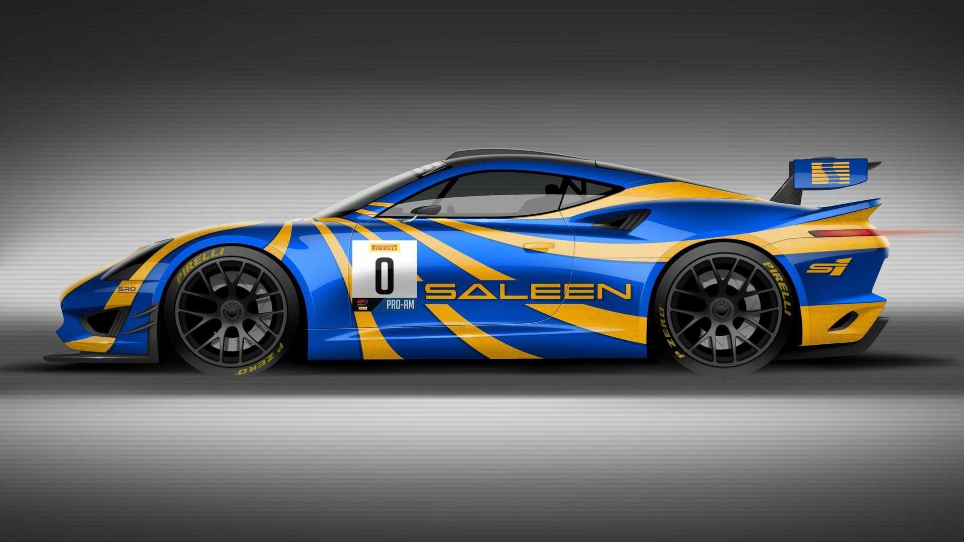 Saleen GT4 Concept Race Car: de vuelta a los circuitos
