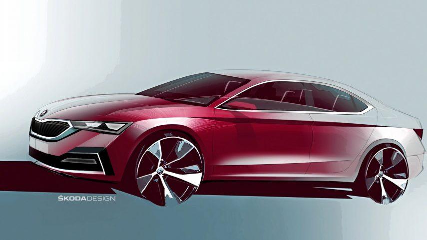 El Škoda Octavia 2020 se desvela en estos primeros bocetos