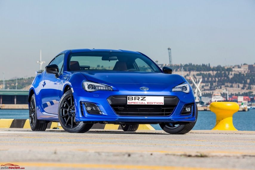 Aterriza en España el Subaru BRZ Special Edition, limitado a 20 unidades
