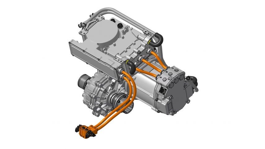 Swindon adelanta su grupo propulsor para electrificar vehículos