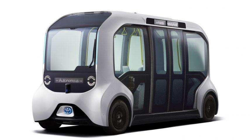 Toyota e-Palette, el autobús autónomo de los Juegos Olímpicos y Paralímpicos 2020