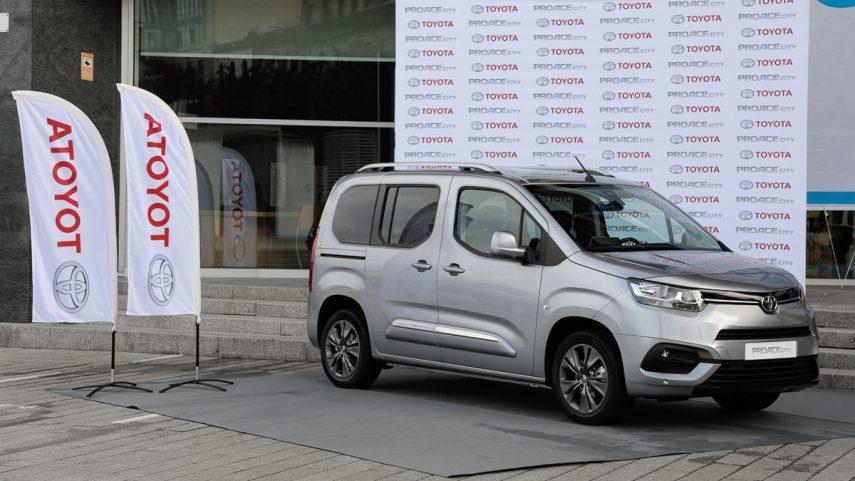 Cuenta atrás para la furgoneta Toyota Proace City