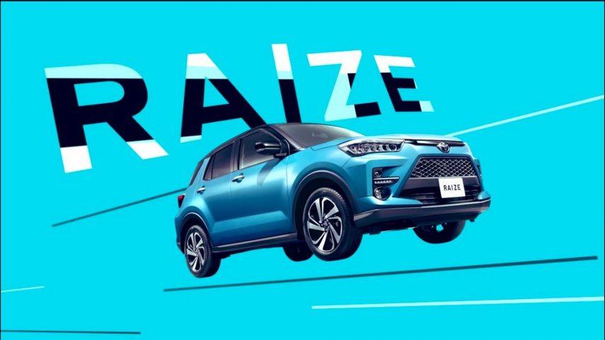 Se filtran imágenes del Toyota Raize, un mini RAV4