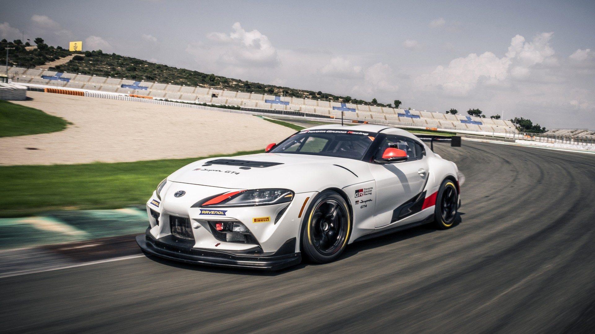 El Toyota Supra GT4 ya está listo para asaltar los circuitos