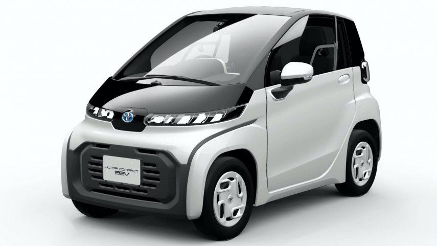 Toyota Ultra-Compact BEV, el eléctrico perfecto para las calles angostas