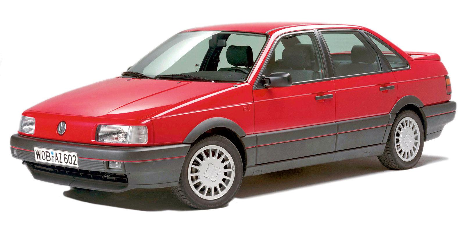 Coche del día: Volkswagen Passat GT G60 Syncro (B3)