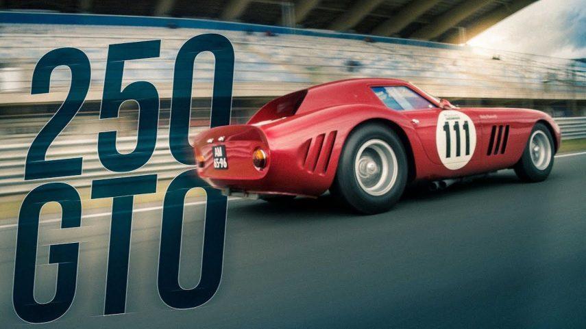 Así es como debería de conducirse un Ferrari 250 GTO