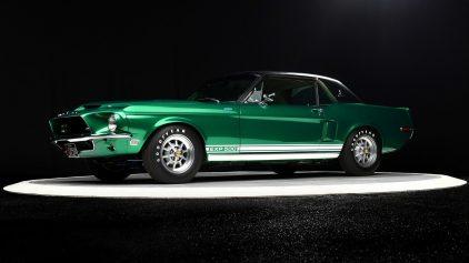 1968 Shelby GT500 Green Hornet Prototype 2
