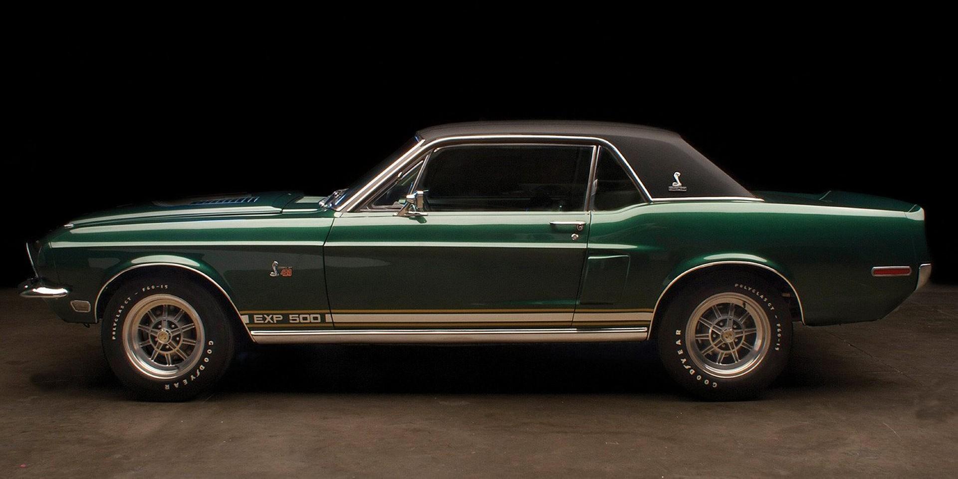 "Shelby GT500 ""Green Hornet"": otro Mustang único creado por un hombre único"