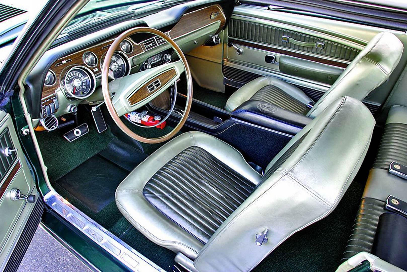 1968 Shelby GT500 Green Hornet Prototype 4