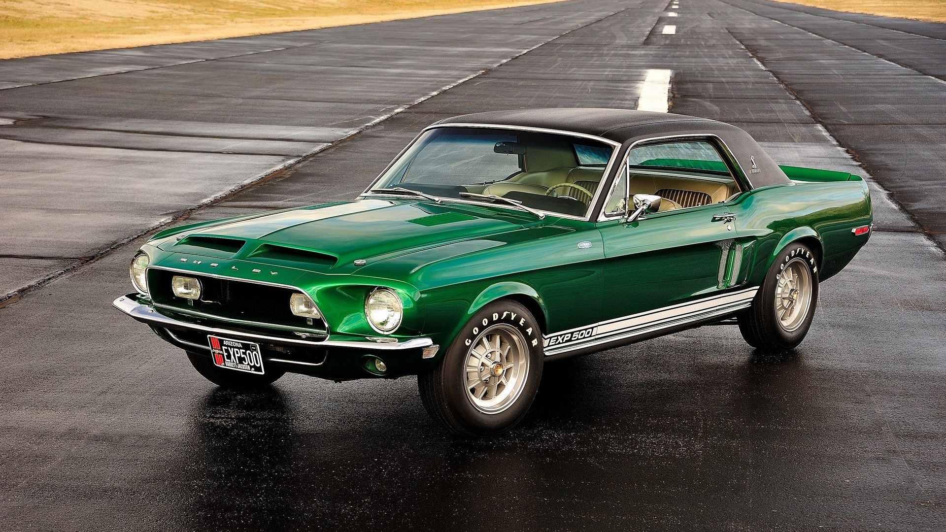 1968 Shelby GT500 Green Hornet Prototype