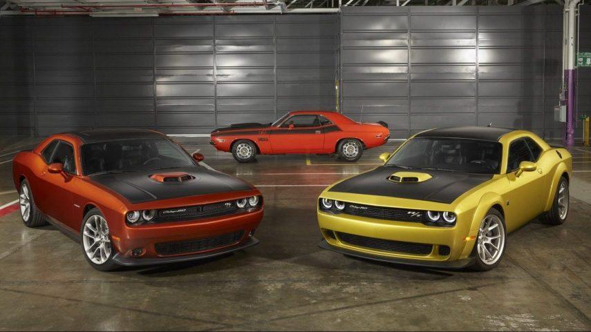 Dodge Challenger 50th Anniversary Edition, haciendo retrospectiva