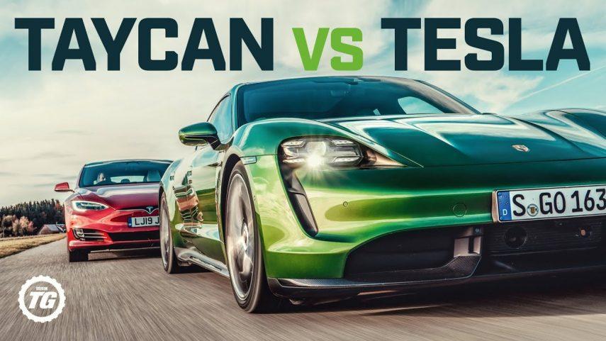 Porsche Taycan contra Tesla Model S: ¿Quien ganará?