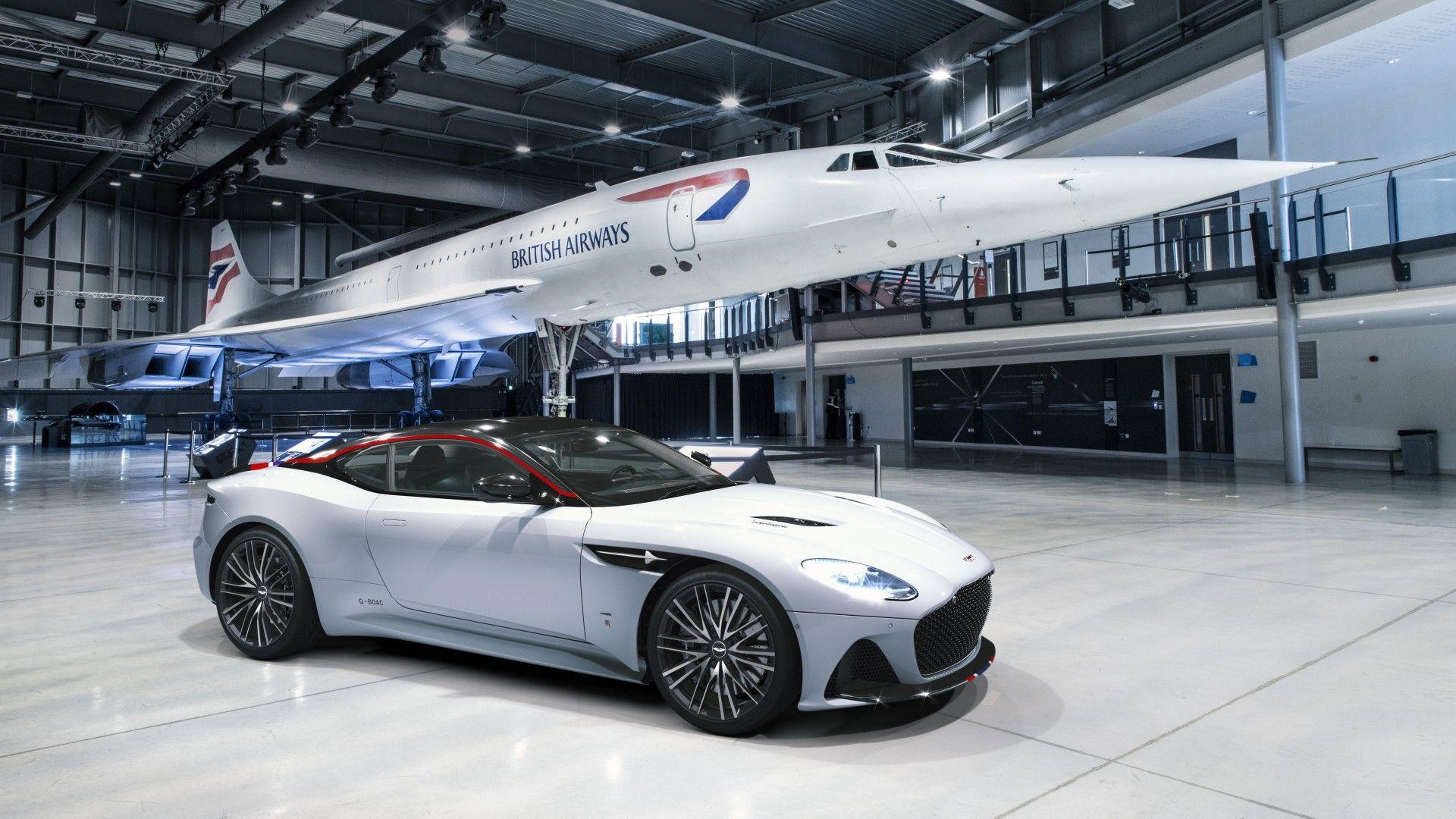 Aston Martin DBS Superleggera Concorde Edition: conmemorando el 50 aniversario del Concorde