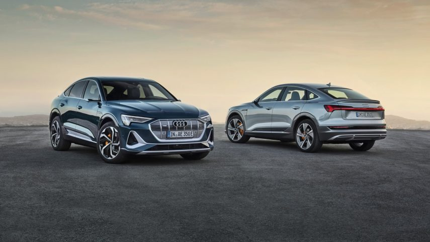 Audi e-tron Sportback, aspiraciones coupé para el SUV eléctrico alemán