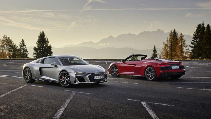 Llegan los nuevos Audi R8 V10 RWD Coupé y Spyder