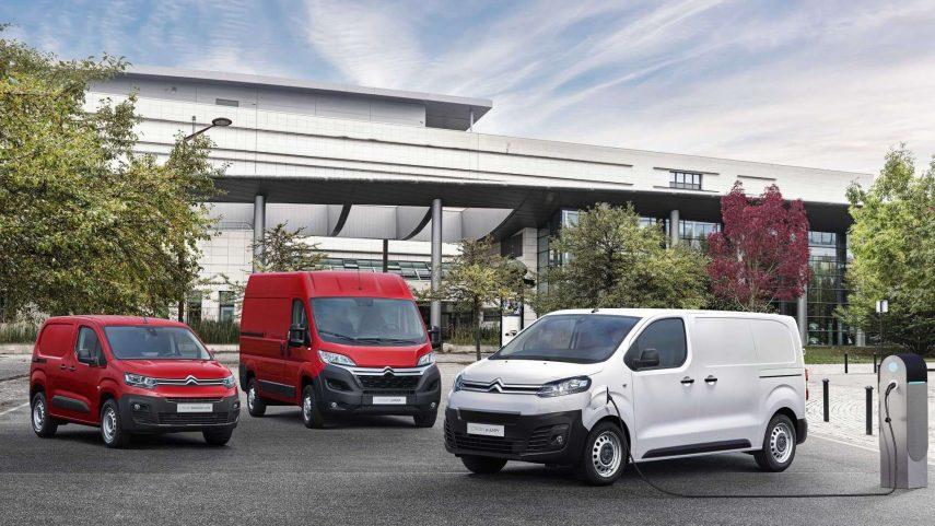 Los vehículos comerciales de Citroën se pasarán a los enchufes