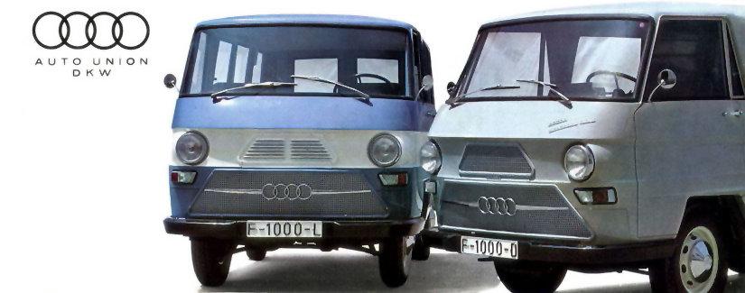 Resultado de imagen de anuncio furgoneta dkw