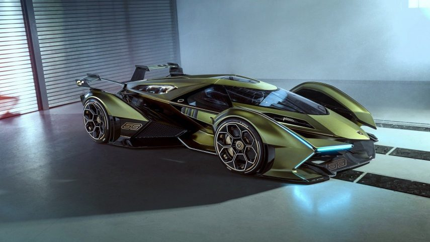 Lamborghini Lambo V12 Vision Gran Turismo Concept: un coche de ciencia ficción