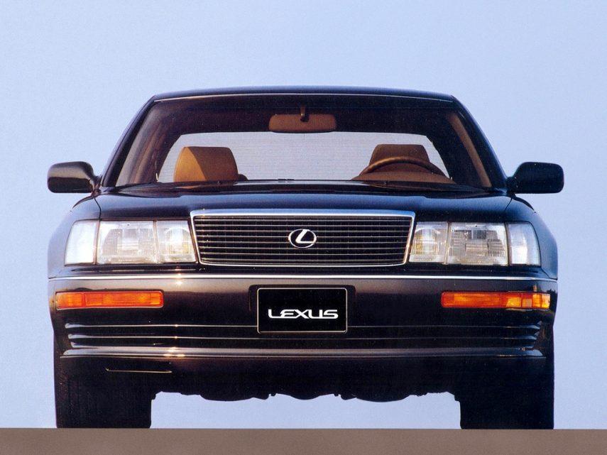 Coche del día: Lexus LS 400 (UCF10)