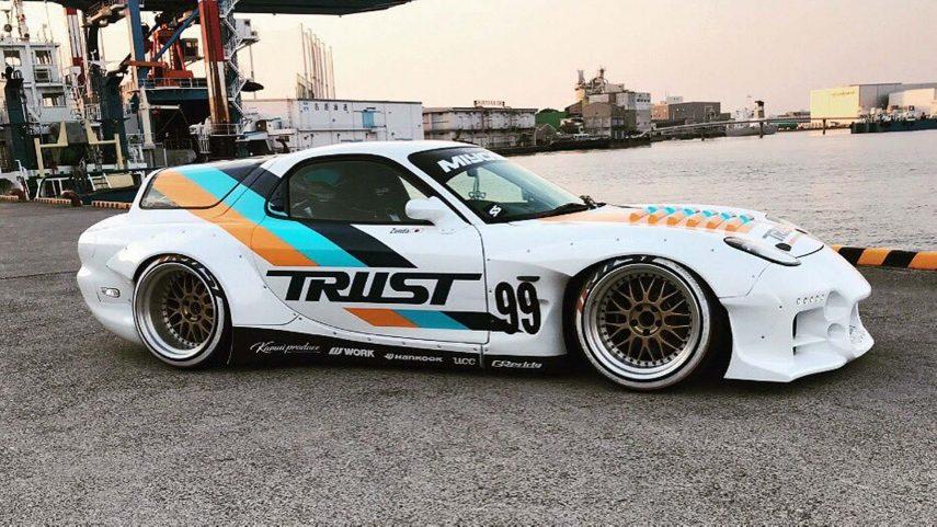 """Mazda RX-7 """"Shooting Brake"""": alma rotativa en un envase más práctico"""