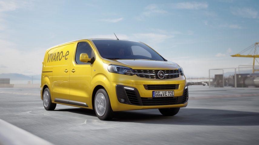Opel Vivaro-e 2020: lista para trabajar en entornos urbanos limpiamente