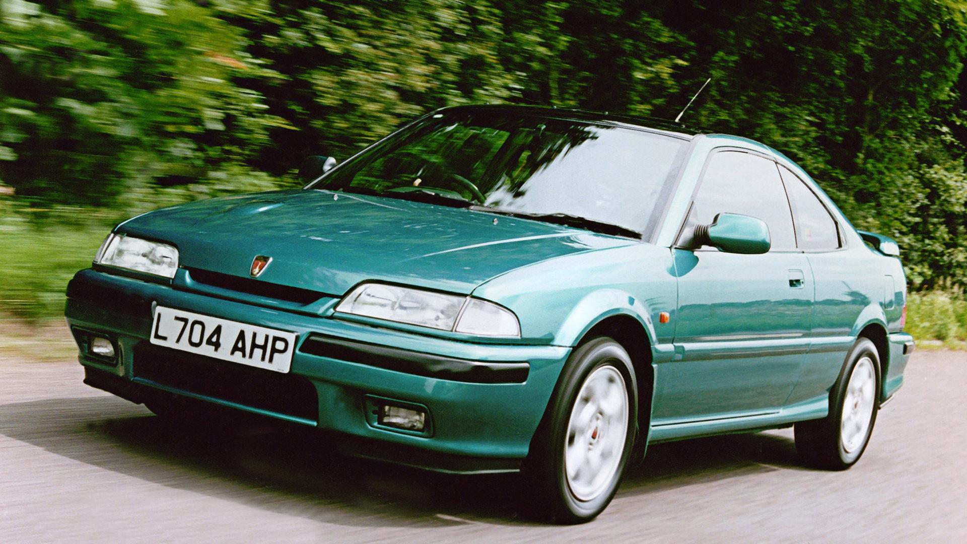 Coche del día: Rover 220 Coupé Turbo