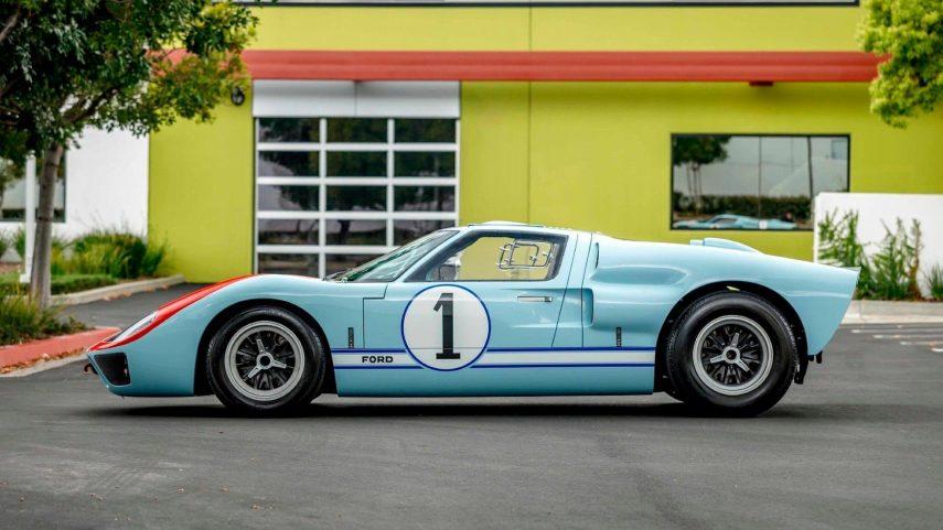 """El Ford GT40 Mk.II de """"Le Mans 66"""" sale a subasta"""