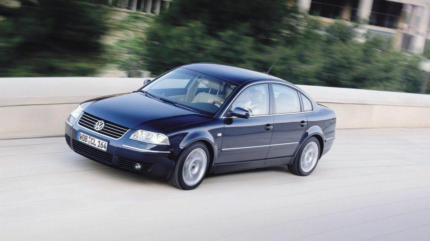 Coche del día: Volkswagen Passat W8 (B5)