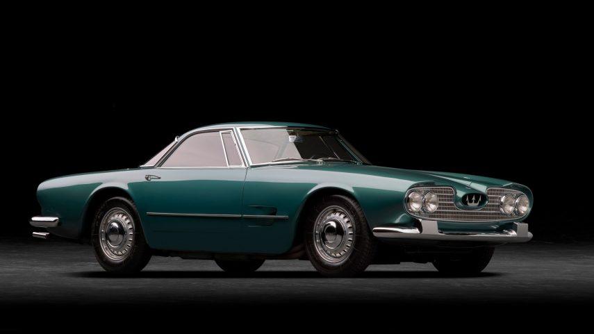El Maserati 5000 GT cumple 60 años, y se mantiene como el primer día