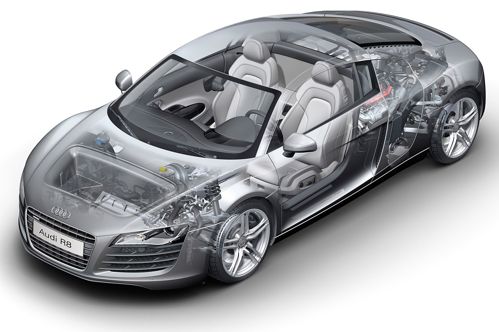 Audi R8 Coupe Typ 42 5