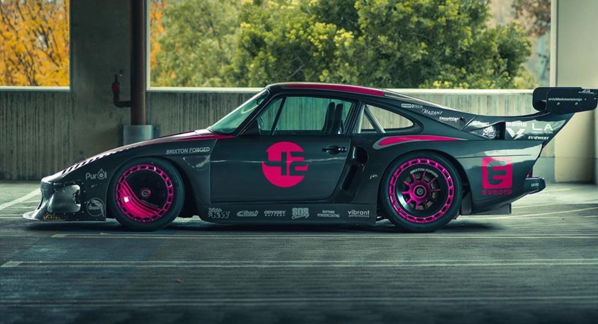 Bisimoto crea el primer Porsche 935 eléctrico del mundo