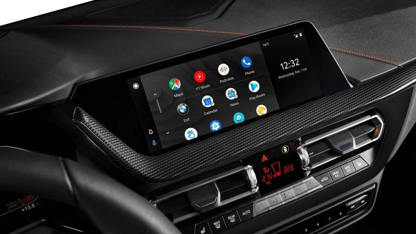 A partir de 2020 BMW ofrecerá Android Auto de conexión inalámbrica