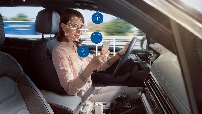 Bosch desarrolla un sistema para controlar las distracciones