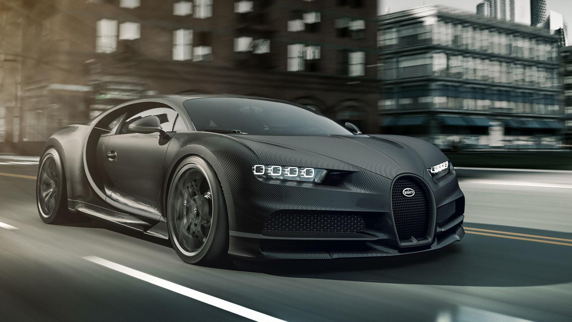 Bugatti Chiron Noire: el superdeportivo ideal para los amantes del lado oscuro