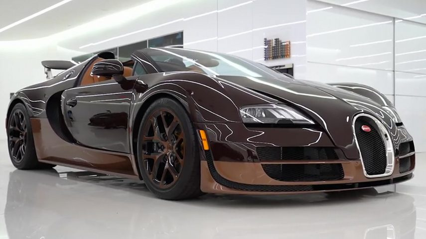 ¿Cuál es el precio del mantenimiento básico de un Bugatti Veyron?
