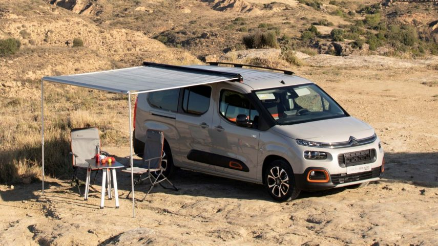 Citroën Berlingo by Tinkervan, camperizando la furgoneta compacta de la casa