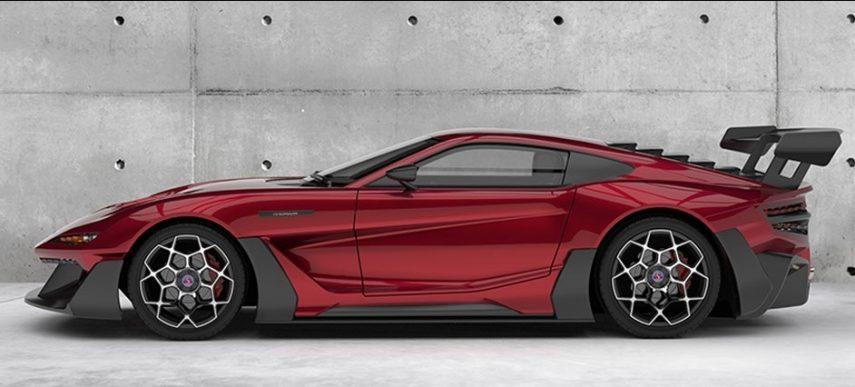 Factory Five F9R Concept: un kit car con un V12 de 9,5 litros y más de 750 CV