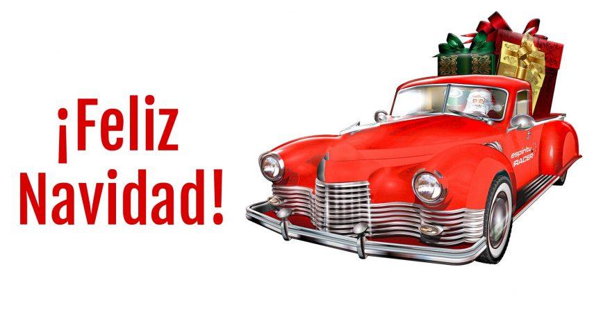 Feliz Navidad coche