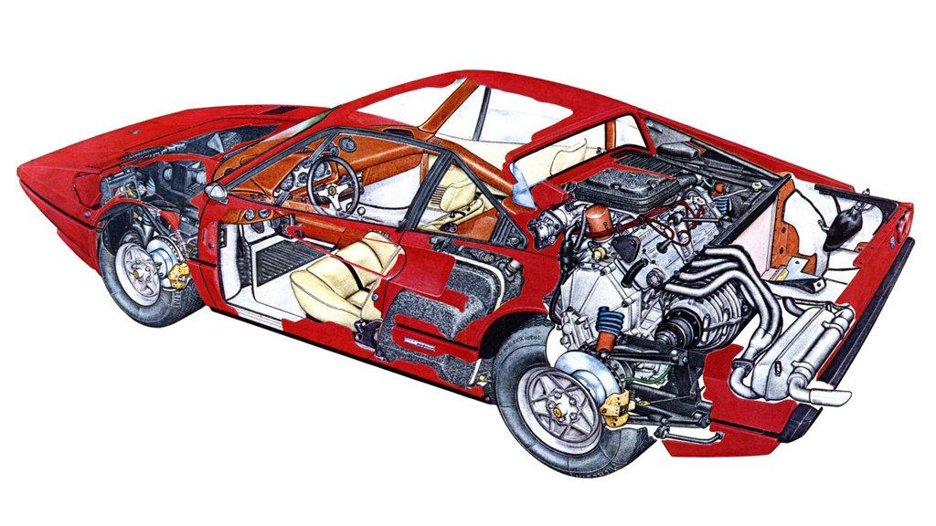 Ferrari 308 GTB acciao 2