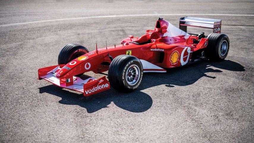 El Ferrari F2002 pilotado por Michael Schumacher encuentra dueño