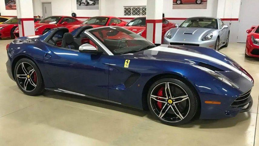 A la venta un extraño y exclusivo Ferrari F60 América