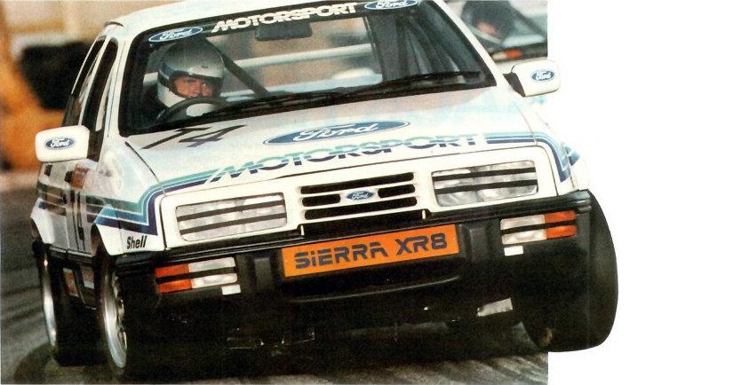 Coche del día: Ford Sierra XR8