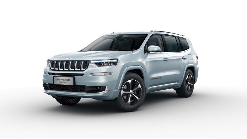 El Jeep Grand Commander PHEV inicia sus ventas en China