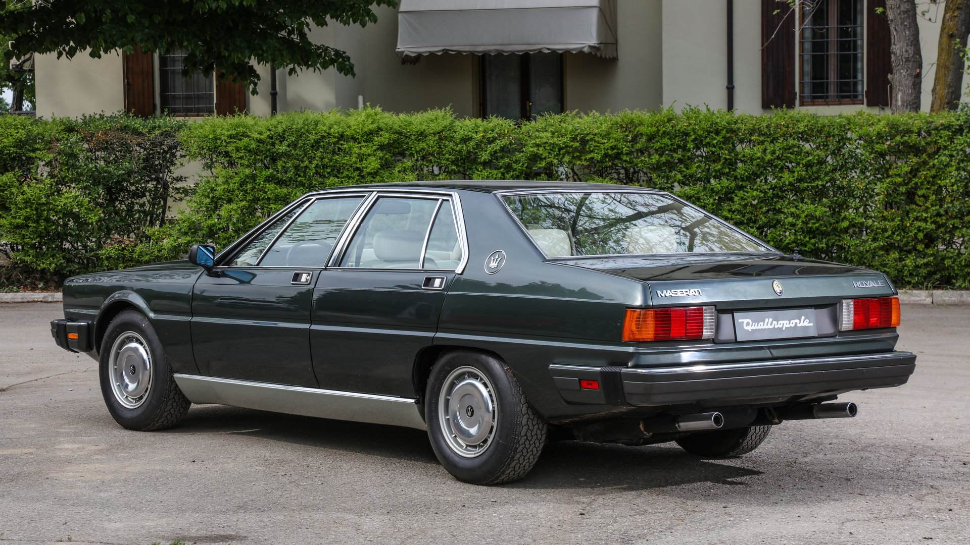 Se cumplen 40 años de la presentación del Maserati Quattroporte (AM330)
