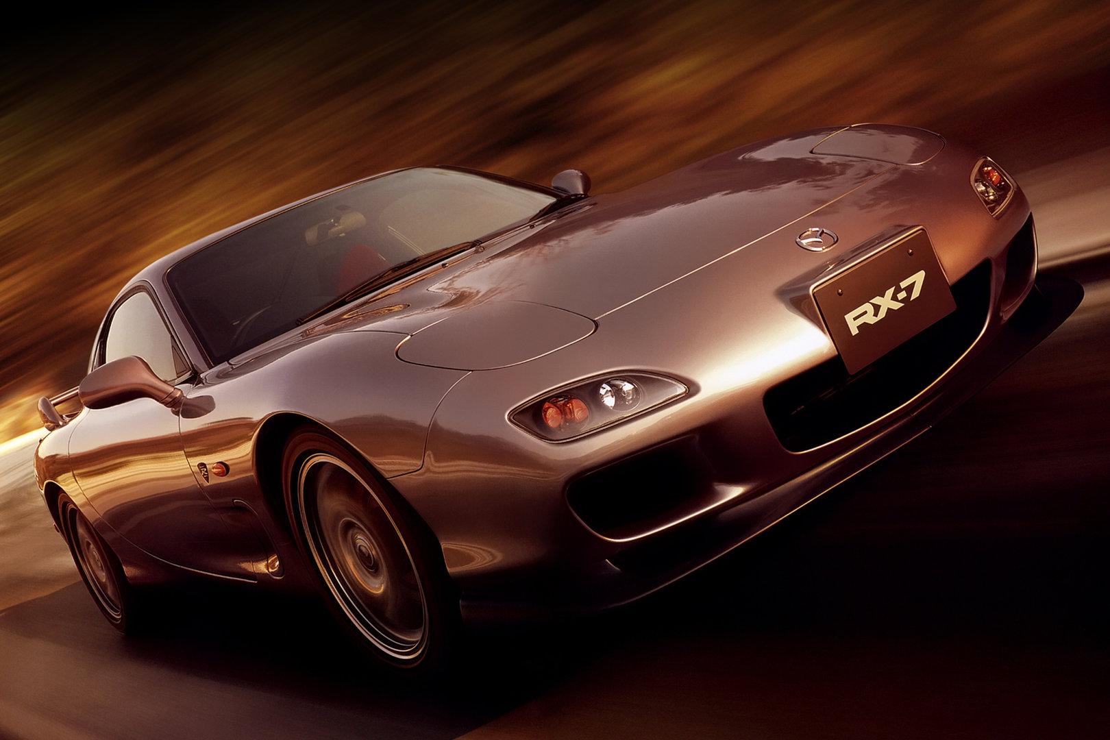 Coche del día: Mazda RX-7 Spirit R (FD3S)