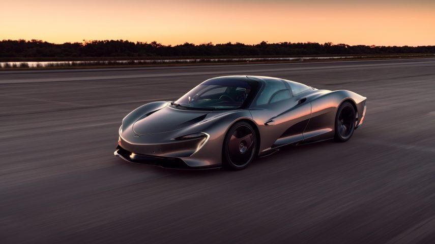 El McLaren Speedtail ya es, oficialmente, el coche más rápido que haya salido de Woking