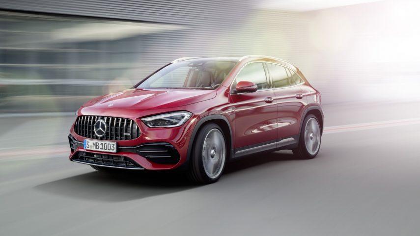Mercedes-AMG GLA 35 4Matic 2020: un poco más de picante a la gama