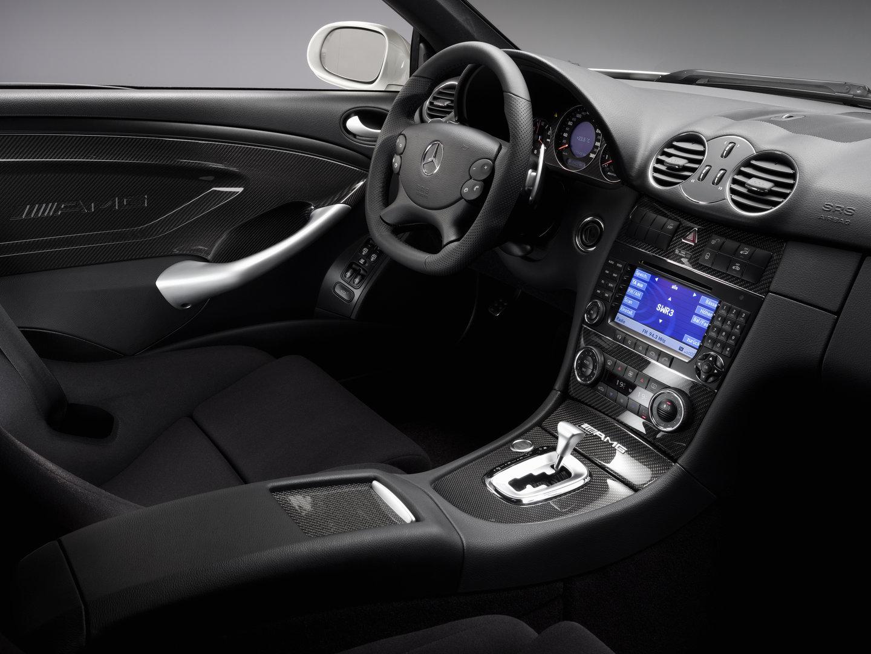 Mercedes Benz CLK 63 AMG Black Series interior C209